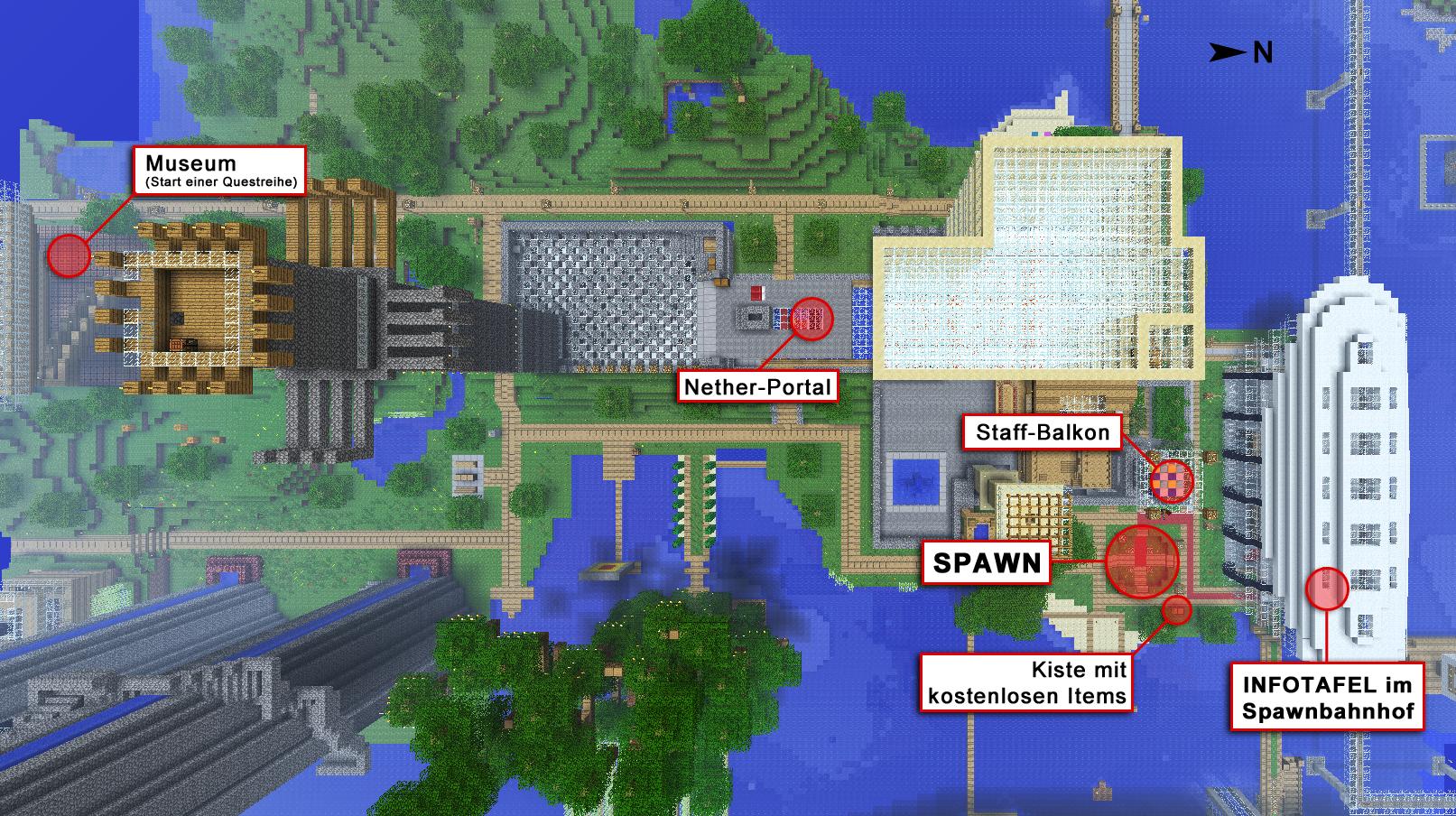 Minecraft Karte.Handbuch Das Wichtigste In Textform Geistlande Deutscher